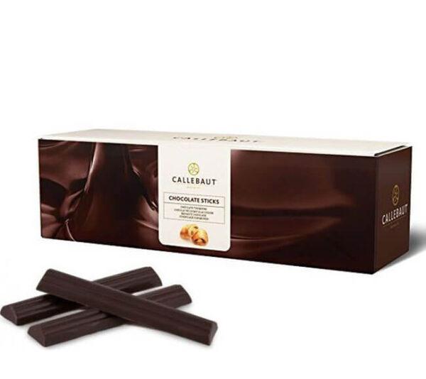 Caja de 1,6 Kg de barritas de Chocolote Negro de Callebaut