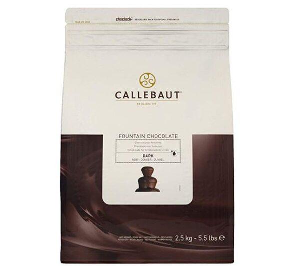 Chocolate negro Fuentes Callebaut
