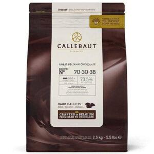 Cobertura 70% Callebaut en bolsa de 2,5Kg