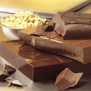 Chocolate con leche sin azúcar marca callebaut