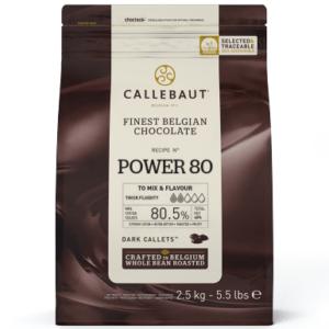 Cobertura de chocolate negro 80%