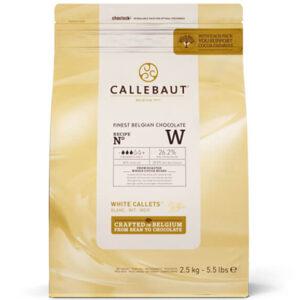 Bolsa de cobertura de Chcolate blanco Callebaut W2