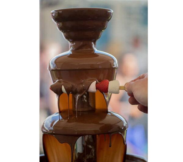 Chcolate para fuentes negro callebaut