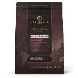 Bolsa de Cobertura de chocolate Satongo 72% de cacao