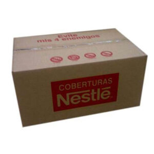 Caja de 10Kg de cobertura Negra y leche de Nestle