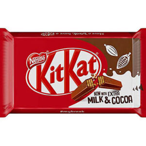 Kit Kat chocolate con leche de Nestle