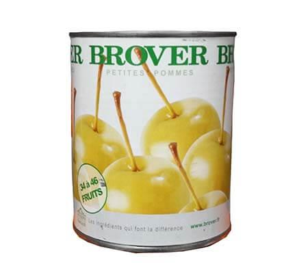 Manzana enana en almibar máximna calidad
