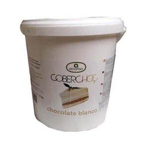 Coberchoc Chocolate Blanco en bote de 7Kg