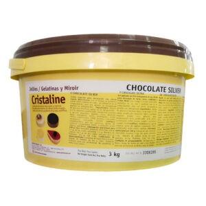 Bote de Cristaline chocolate o espejo de chocolate de arconsa