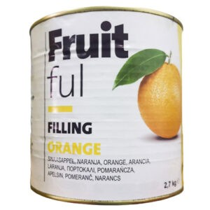 Relleno de naranja en 2,7Kg de Zeelandia