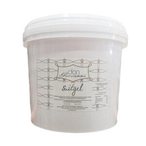 Gelatina líquida transparente de sabor y olor a azucarado