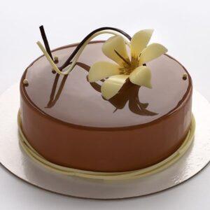 Tarta de espejo de caramelo marca Braun