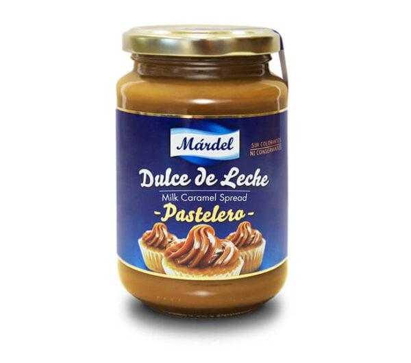 Dulce de leche pastelero Márdel en bote de 450g