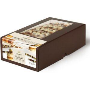 Paquete de 900g de palitos de chocolate de la marca Callebaut