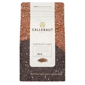 Bolsa de 1kg de escamas de chocolate con leche de Callebaut