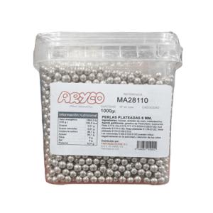 Perlas Plateadas de Azúcar 1Kg