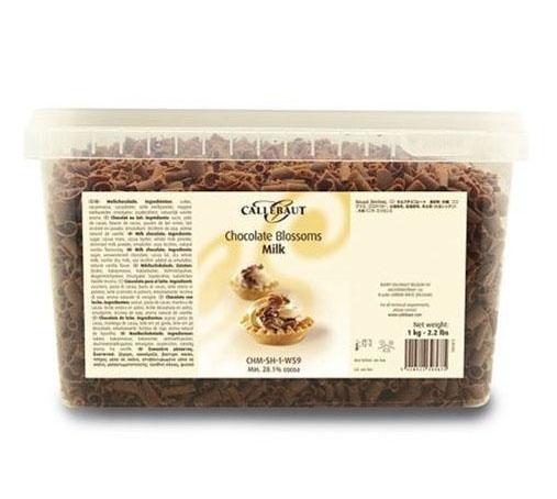 Rizos Chocolate con leche en paquete de 1Kg