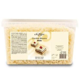 Caja de 1kg de rizos de chocolate blanco