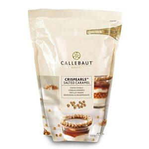 Bolitas de chocolate caramelo salado de Callebaut, Crispearls Salted Caramel