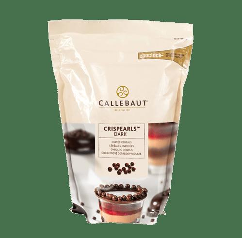 Bolitas de chocolate negro Callebaut o Crispearls Dark