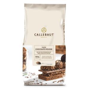 Mousse de Chocolate negro de la marca Callebaut en paquete de 800g