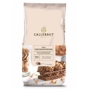Mousse de Chocolate con leche de la marca Callebaut en paquete de 800g