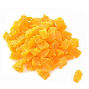Mango deshidratado en dados con azúcar añadido