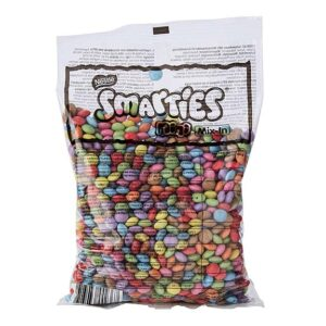 Smarties de Nestlé en bolsa de 500g