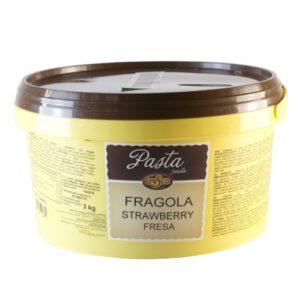 Pasta frutal de fresa tradicional en bote de 3Kg