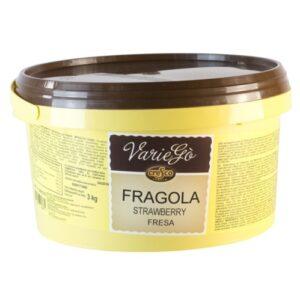 Variegó de Fresa en bote de 3Kg marca Arconsa