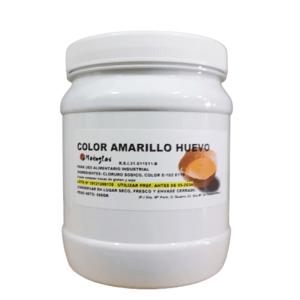 Colorante en polvo amarillo huevo en bote de 500g