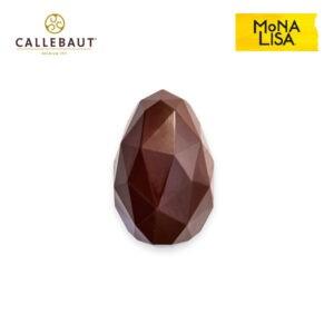 Huevos Geométricos de Chocolate Callebaut