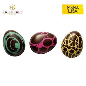 Huevos Artísticos de Chocolate Callebaut