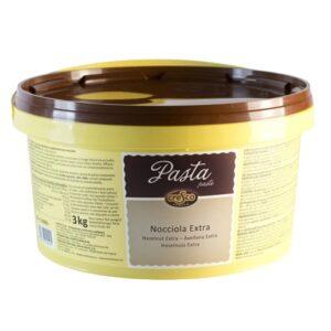 Pasta Crema Avellana Italiana 100% en bote de 3Kg