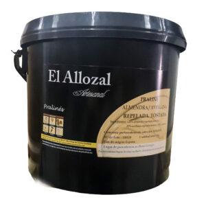 Praline Avellana-Almendra artesana en bote de 6Kg