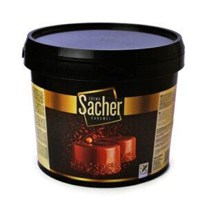 Crema Sacher Caramelo en bote de 6Kg