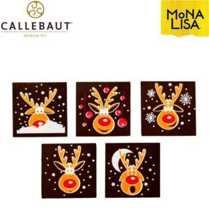 Surtido Renos de Chocolate Negro Callebaut