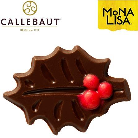 Hoja Navideña Chocolate Callebaut