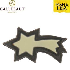 Estrella Navideña Chocolate Negro y blanco Callebaut