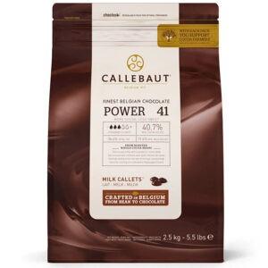 Cobertura power 41 en bolsa de 2,5kg chocolate con leche