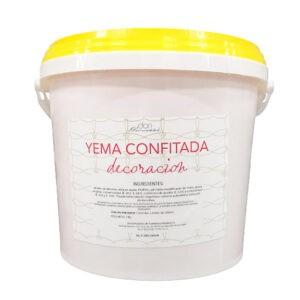 Yema Confitada especial para Decoración en bote de 7Kg
