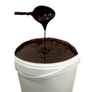 Crema Gofres Chocolate Negro en bote de 6Kg