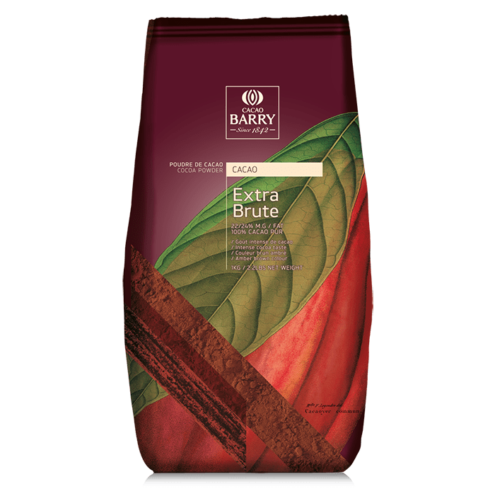 Cacao en Polvo Rojo Barry en bolsa de 1Kg