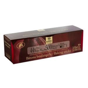 Barritas de Chocolate Negro de Barry en caja de 1,6Kg