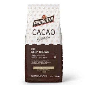 Masa de cacao en polvo Callebaut