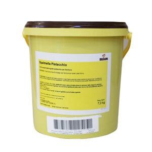 Cubo de Crema de pistacho para bollería en 7Kg