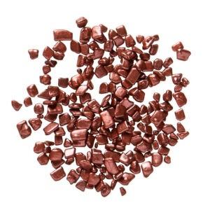 escamas de chocolate metálicas