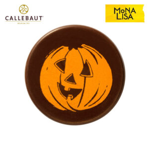Placa Calabaza Halloween Chocolate negro 210uds